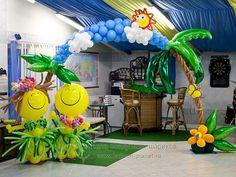 """Как из простой гирлянды сделать оригинальную (Идеи) - Оформление детских садов, школ, сцен - Клуб """"Воздушные шары"""""""