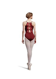 Bloch Ladies Clover Mesh Camisole Leotard