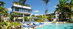 The Savannah All-Inclusive Resort Barbados- this intimate resort has 92 rooms, 3 restaurants, and 4 bars.
