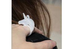 Acrylic Unicorn Ring
