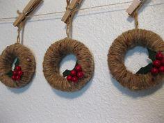 adornos de Navidad de la guirnalda