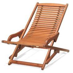 Amazonia Copacabana Wood Swing Chair