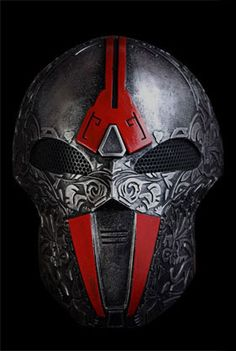 Airsoft Masks : Acolyte Type 2.5 - Silver Red
