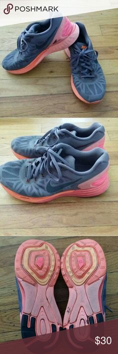 Nike lunar glide 6 Nike lunar glide 6.  In good used condition. Nike Shoes Athletic Shoes