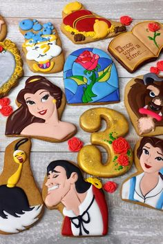 There Goes the Baker With His Tray of Beauty and the Beast Cookies, Like Always