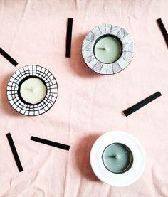 DIY - Sconces | DIY - Bougeoirs - PROJET PASTEL