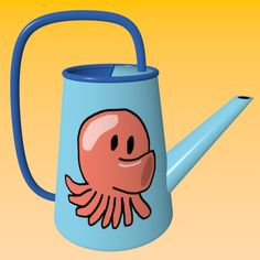 Octopus Watering Can