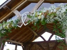 Hearts and flowers at Upton barn