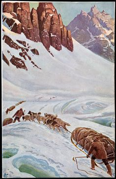 Norway, Mountains, Artist, Painting, Image, Painting Art, Paint, Draw, Amen