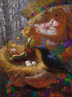 Fantasy painter Victor Nizovtsev /Виктор Низовцев, - Art People Gallery
