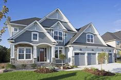 Architectural Designs Exclusive House Plan 73365HS has a delightfully open floor plan, a flex room and an optional finished lower level. Over 3,200 square feet on the first two floors. Ready when you are. What do YOU want to build?