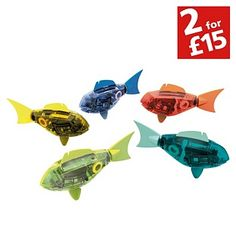 Buy Hexbug Aquabot Figure Assortment - 2 Pack at Argos.co.uk - Your Online Shop for Toys under 10 pounds, Action toys and blasters, 2 for 15 pounds on Toys. ALEXIS