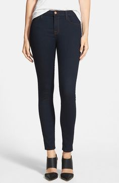Free shipping and returns on J Brand '811' Ankle Skinny Jeans (Ink) at Nordstrom.com. Inky stretch denim defines ultra-versatile jeans cut with super-skinny, ankle-cropped legs for a legging-like silhouette.