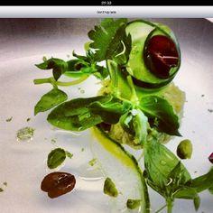 Déjeuner @ agapé substance - David Toutain