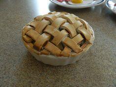 "Polymer clay food: apple pie! For 18"" dolls like American Girl   best stuff"