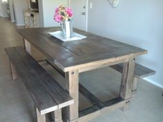 Custom Farm Table - Hawkeye Studios