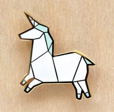 http://www.hugaporcupine.com/collections/origami-brooches/origami-unicorn-brooch/#jp-carousel-1744