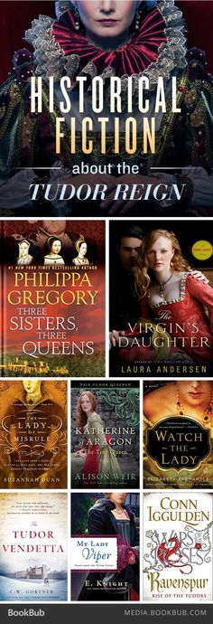 8 historical fiction books about the Tudor reign, including books from Philippa Gregory and Alison Weir. (scheduled via http://www.tailwindapp.com?utm_source=pinterest&utm_medium=twpin&utm_content=post116287679&utm_campaign=scheduler_attribution)