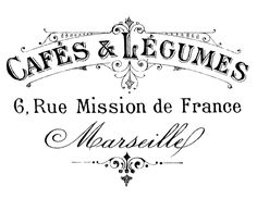 Fantastic Website !!The Graphics Fairy - DIY: French Transfer Printable - Typography - Marseille