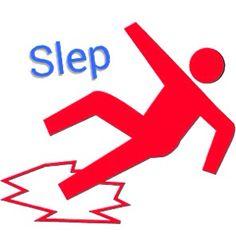 Slip | Mi a slep kai abou - I slipped and fell down! Visit: henkyspapiamento.com #papiamentu #papiamento #papiaments #aruba #bonaire #curacao #slip #uitglijden #resbalar #escorregar