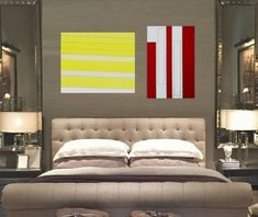 Stripes Another Thought. Sell My Art, Paint Stripes, Oil Painting On Canvas, Saatchi Art, Original Paintings, Rooms, Couch, Thoughts, The Originals