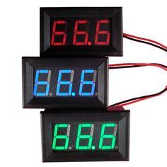 $1.72 (Buy here: https://alitems.com/g/1e8d114494ebda23ff8b16525dc3e8/?i=5&ulp=https%3A%2F%2Fwww.aliexpress.com%2Fitem%2FDC-0-30V-Voltmeter-LED-3-Digital-Display-Voltmeter-Panel-Volt-Voltage-Meter-Motorcycle-Lh8s%2F32668959429.html ) DC 0-30V Voltmeter LED 3-Digital Display Voltmeter Panel Volt Voltage Meter Motorcycle Lh8s for just $1.72