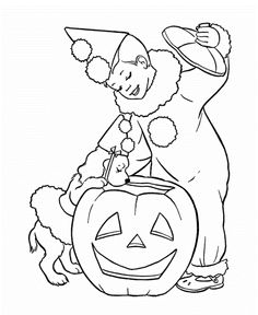 halloween coloring pages for 2 year olds | coloring kids ...