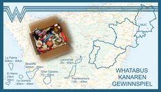 26. Februar 2016 Nach unserer bisher längsten Tour mit WHATABUS auf die Kanarischen Inselnwollen wir an Euch, liebe Leser, ein Paket mit ein paar kulinarischen Mitbringseln von unserem Roadtrip verlosen. Um am Gewinnspiel teilzunehmen, müsst ihr schätzen, wieviele Kilometer wir mit WHATABUS von München auf die Kanaren, auf den Inseln und wieder zurück nach München…