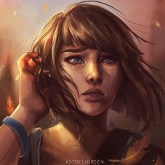 She almost looks like Max from Life is Strange