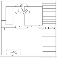 layout sketch @Studio_Calico
