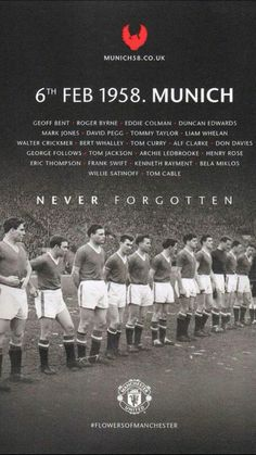 New Sport Poster Soccer Alex Oloughlin Ideas Manchester Unaited, Manchester United Wallpaper, Manchester United Legends, Manchester United Football, Man Utd Squad, Man Utd Fc, Real Madrid, Munich Air Disaster, Tommy Taylor