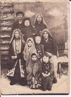 Bashkir people - archive. Тюркские Языки, Россия, Народный, Культура, Костюмы