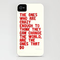 The Crazy Ones iPhone & iPod Case