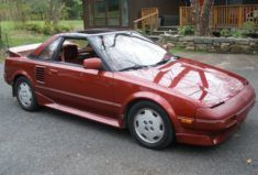 No Reserve 1989 Toyota Mr2 5 Speed In 2020 Toyota Mr2 Toyota Mazda Cars