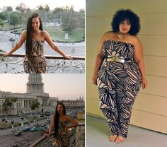 Celeb Style Inspiration: Beyonce Style; Rachel Pally Jumpsuit; Plus Size Fashion