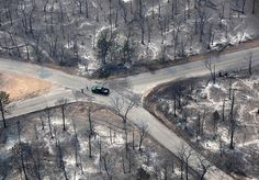 Bastrop, USA: A car drives through an area damaged by wildfires in Texas New Trucks, Trucks For Sale, Cars For Sale, Best Family Cars, New Titan, Mid Size Car, Small Luxury Cars, Kia Optima, Subaru Legacy