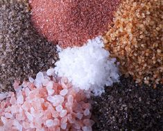 Know Your Salts: Different Types of Salt and Their Benefits http://themindunleashed.org/wp-content/uploads/2014/07/know-your-saltss.jpg
