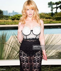 Actress <a gi-track='captionPersonalityLinkClicked' href=/galleries/search?phrase=Melissa+Rauch&family=editorial&specificpeople=887562 ng-click='$event.stopPropagation()'>Melissa Rauch</a> is photographed for Fhm Uk on September 11, 2014 in Los Angeles, California.