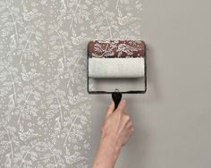 Roll on feature wall - Can't get much easier than this.. #BedroomDecor