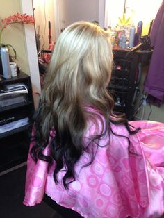 Reverse Ombré by Jennifer Longoria at A Perfect Image Salon, Bastrop TX Gorgeous Hair Color, Hair Color Dark, Portobello, Reverse Ombre Hair, Hair Junkie, Dye My Hair, Grunge Hair, Skinny, Hair Highlights