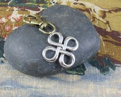 Celtic Knot Purse Charm  Outlander inspired by KLFStudio on Etsy