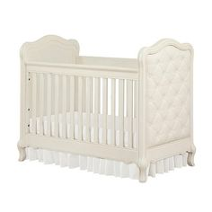 "Bertini Tinsley 3-in-1 Upholstered Crib - Antique White - Babies""R""Us"