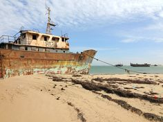 Ship Cemetery ... Mauritania's second-largest city is home to the world's largest ship graveyard. The city's port is home to more than 300 rusted vessels, as corrupt officials took bribes from boat owners, allowing them to abandon their ships.