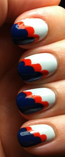 1000+ Images About Auburn Nail Art On Pinterest