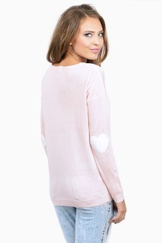 Heart On My Sleeves Sweater
