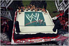 WWE  Party Plans~ Meet the Barrington's