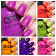 The PolishAholic: ORLY Baked Summer 2014 Collection Swatches & Review