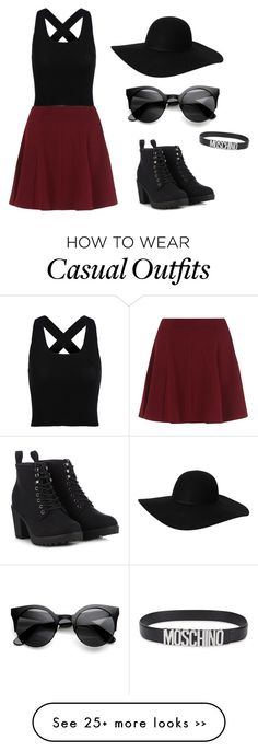 """College casual"" by neverlikever on Polyvore"