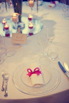 dettaglio tavolo romantico