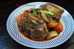 Slow Cooker Galbijjim (Korean Braised Short Ribs)